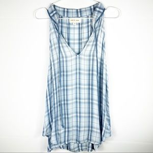 Anthropologie | Cloth  & Stone Chambray Tank Top